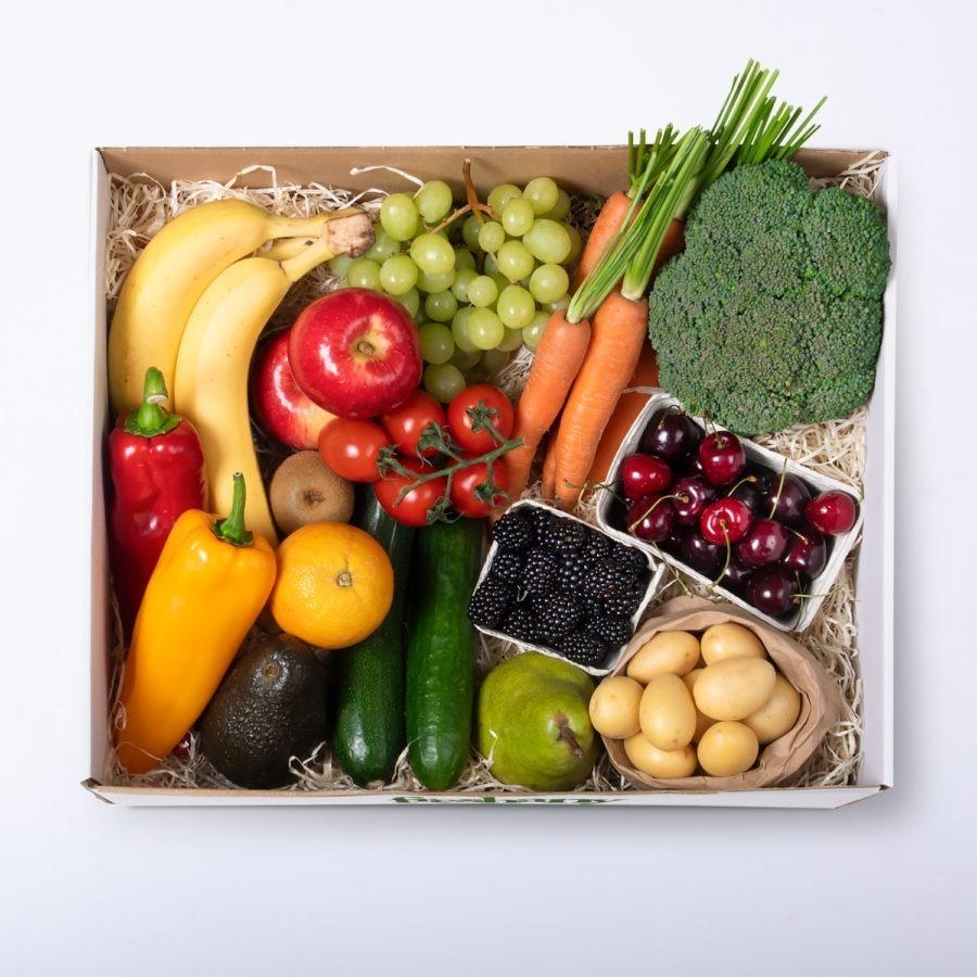 Obst und Gemüse Kiste - Freshany