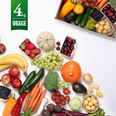 Obst und Gemüse Kiste 4kg - Freshany