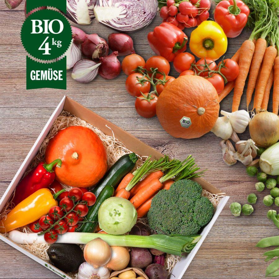 Bio Gemüsekiste München 4kg -M- freshany