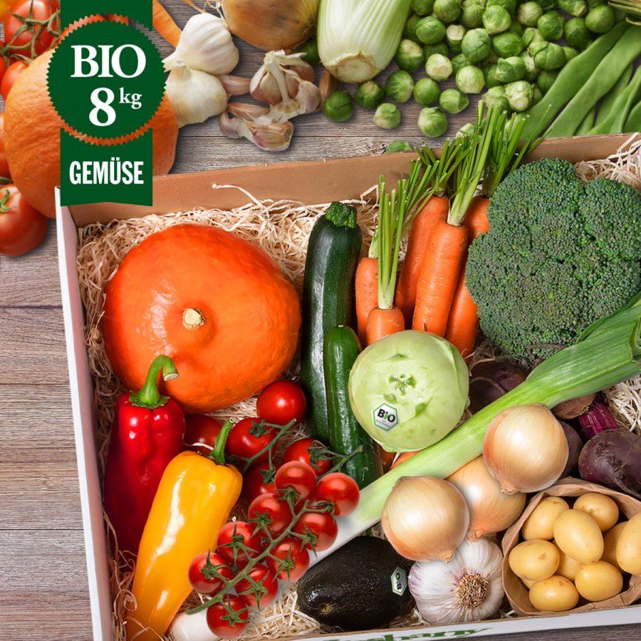 Bio Gemüsekiste München 8kg -B- freshany