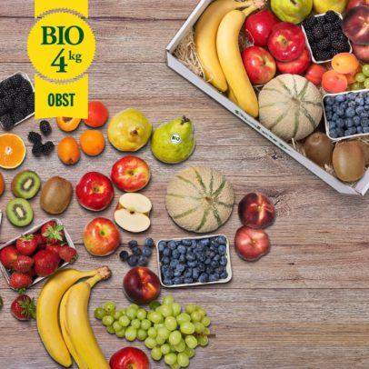 Obst bestellen - Biokiste 4kg -M-freshany