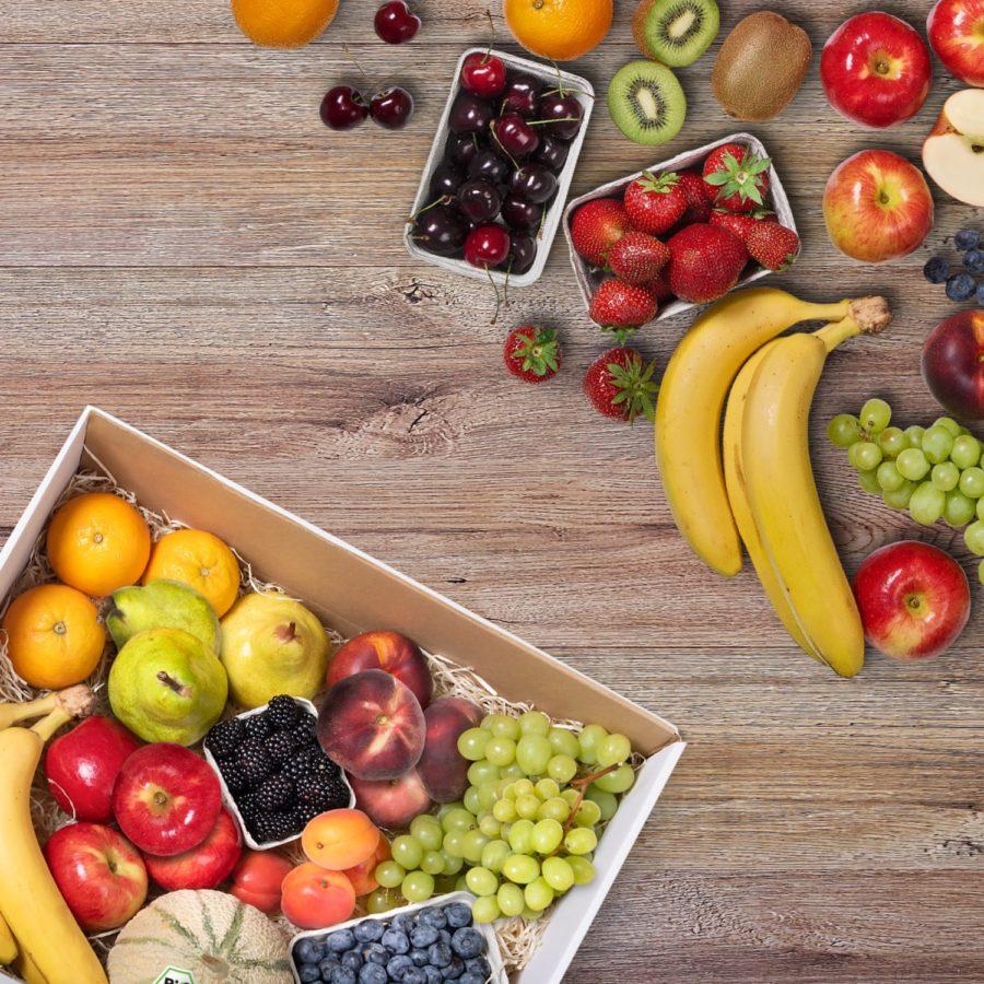 Obst bestellen - Biokiste -M-freshany