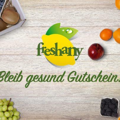 Freshany Geschenkkarte Obst und Gemüse